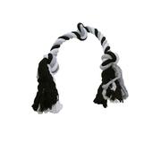 Flosstugg svart/vit/grå