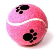 Stor tennisboll m tassar