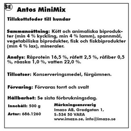 Antos MiniMix 500gr