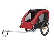 Cykelvagn Röd/Svart