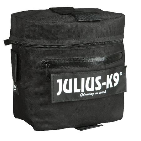 Julius-K9 Klövjeväska, svart, 2-pack