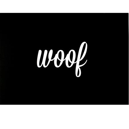 Underlägg Woof