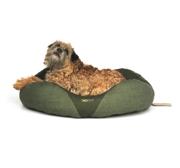 Hundbädd  Donut Grön Beco