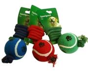 Tennisboll med 60cm rep