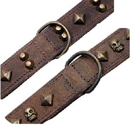 Prärie läderhalsband