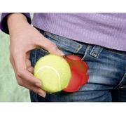 Hållare till tennisboll