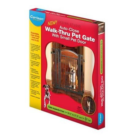 Grind Designstudio Walk-thru m dörr 76x74-95 cm