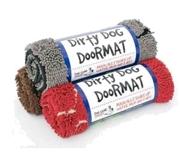 Dirty Dog matta Röd Large