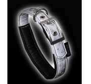 Art Leather Reflexhalsband