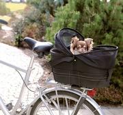 Cykelkorg svart 48 x 29 x 42 cm