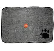 Hundfäll grå med tass